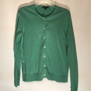 Lands End sweater. Sage green Large